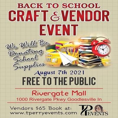 Back To School Craft & Vendor Event