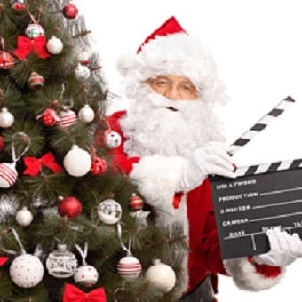 Santa's Arrival Event & Drive-In Movie